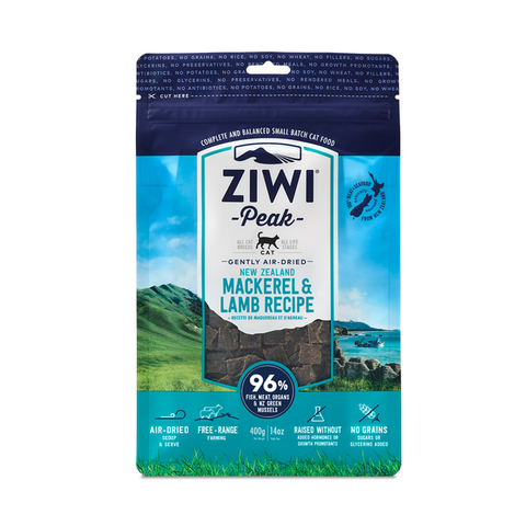 ZiwiPeak® Mackerel & Lamb Gently Air-dried Cat Food