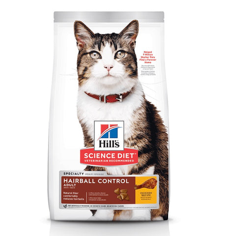 Hills Science diet Adult Hairball control Dry Cat Food