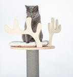 HONEYPOT CAT® Solid Wood Cat Tree 148cm #200215