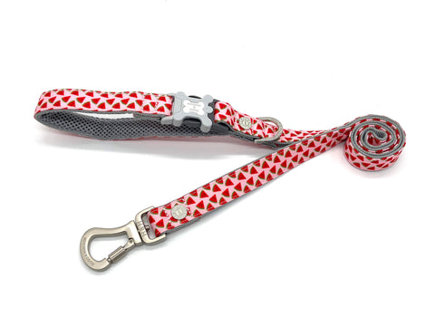 Hugo&Hudson Pink Watermelon Dog Leash