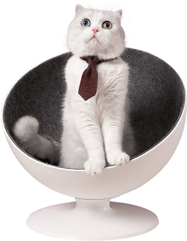 Furrytail® Boss Cat Bed, Elevated Cat Chair