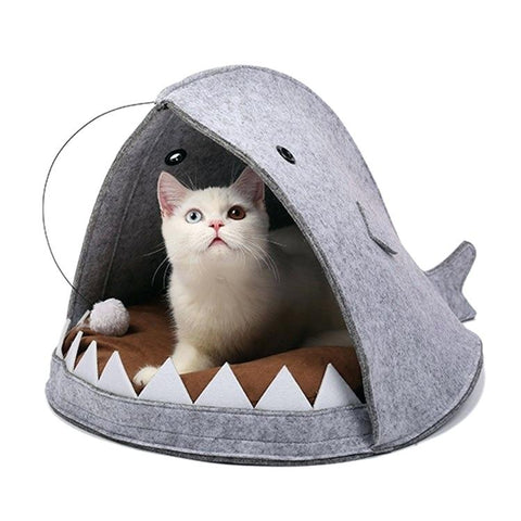 Lantern Fish Cat Bed
