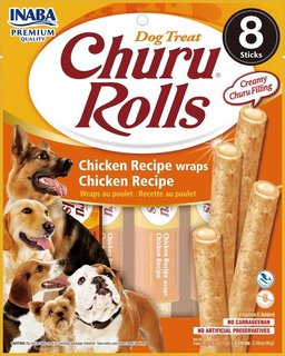 Inaba Churu Rolls Chicken Recipe wraps Chicken Recipe