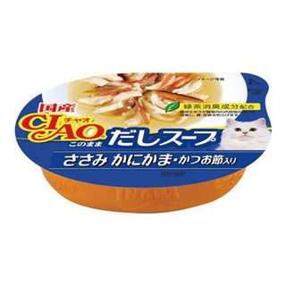 Ciao Chicken with Crab Flavored Kamaboko & Dried Bonito Flakes (60g)