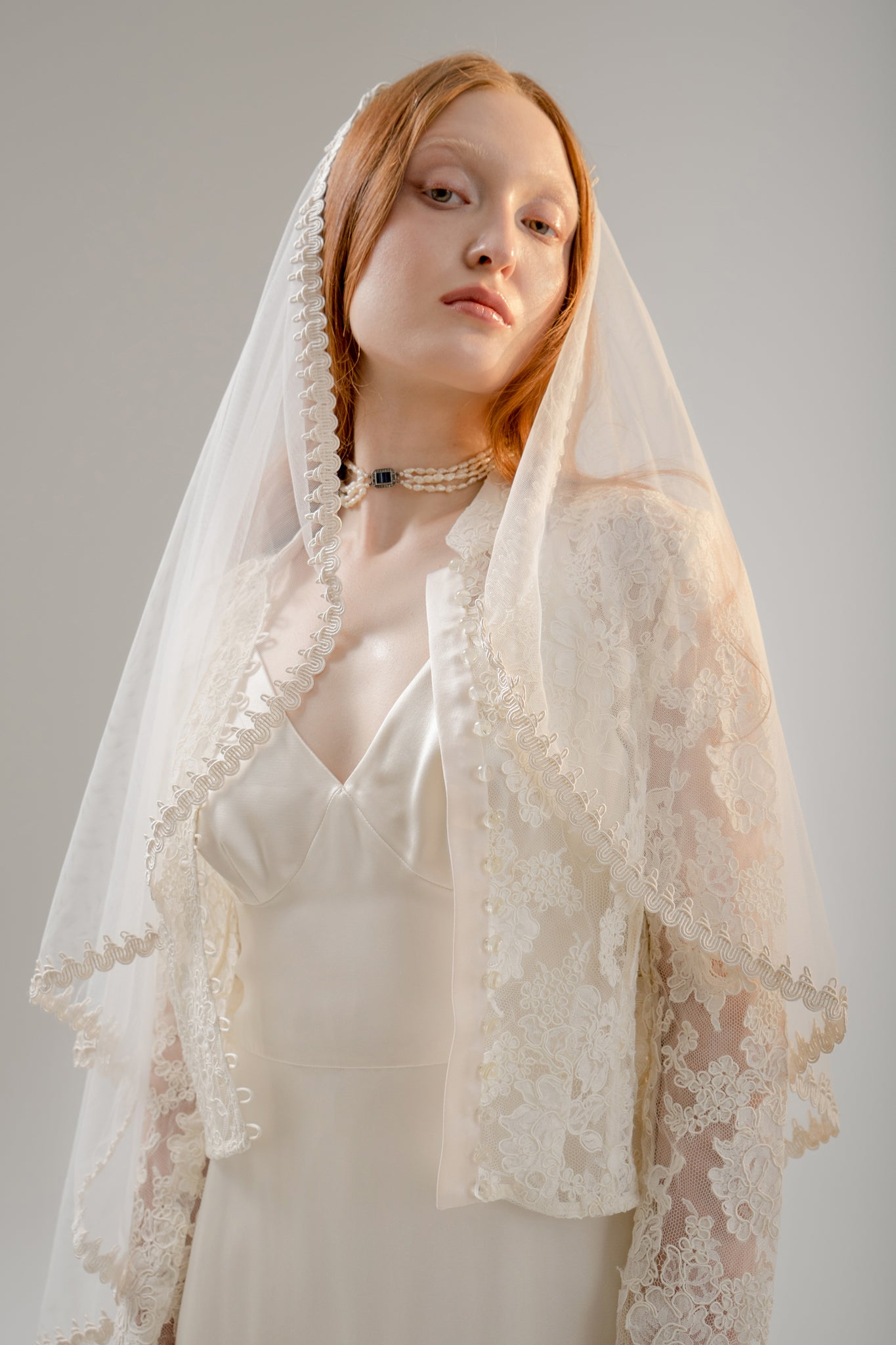 Jorie Heart Shape Veil