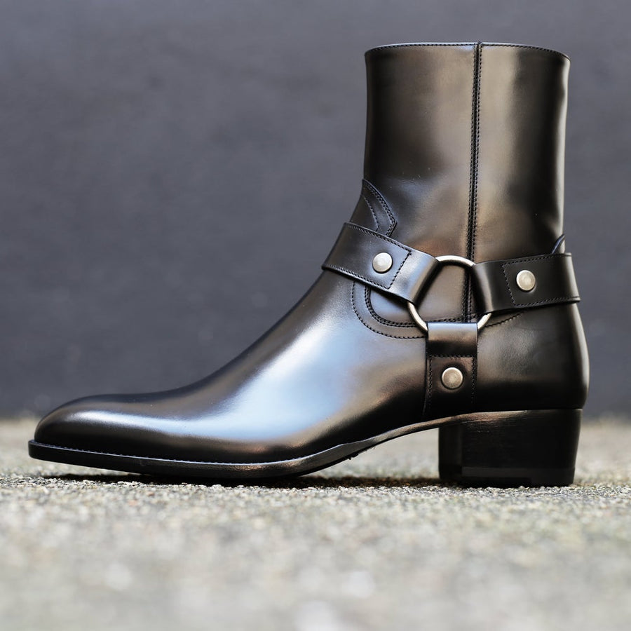 SAINT LAURENT - Wyatt40 Harness Boot