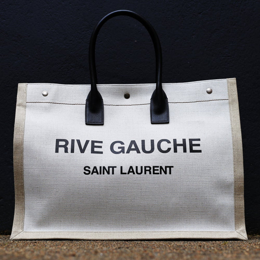 SAINT LAURENT - Rive Gauche Tote Bag