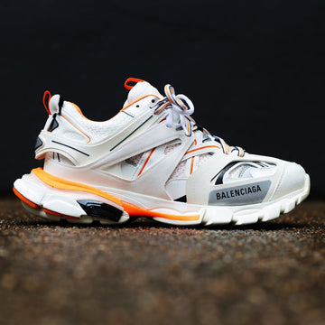 BALENCIAGA - Track Sneakers White/Orange