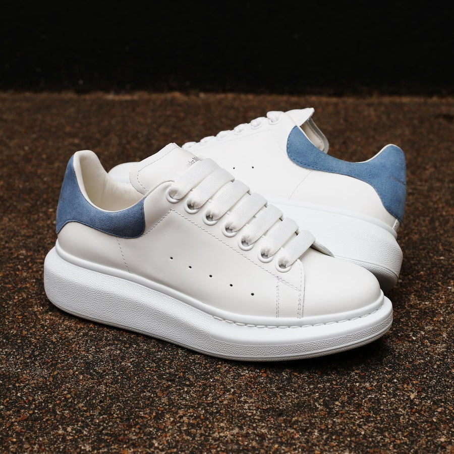 ALEXANDER MCQUEEN - Women's Oversized Sneaker White/Dream Blue