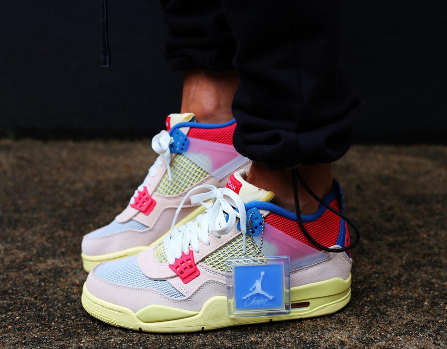 AIR JORDAN x UNION - Air Jordan 4 Retro Union Guava Ice