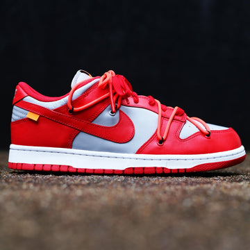 "OFF-WHITE C/O VIRGIL ABLOH x NIKE - Dunk Low ""University Red"""