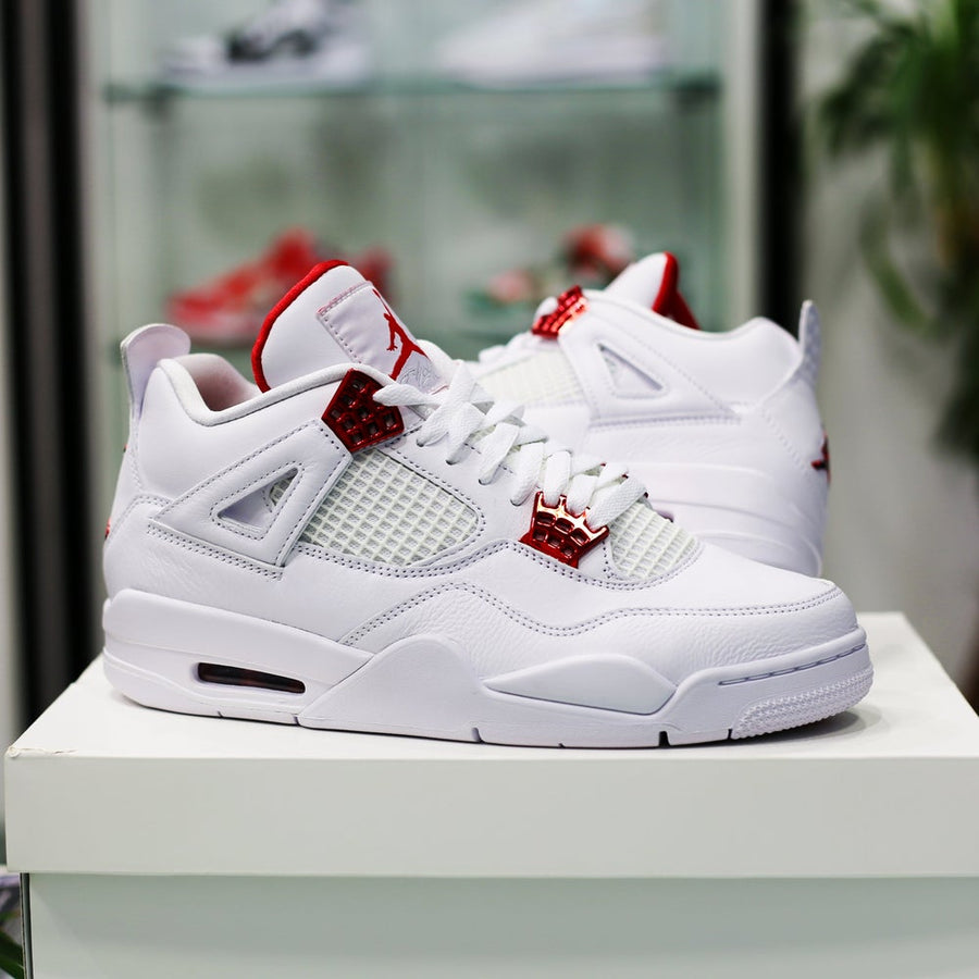 AIR JORDAN - Air Jordan 4 Retro Metallic Red