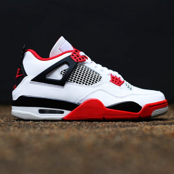 AIR JORDAN - Air Jordan 4 Retro Fire Red