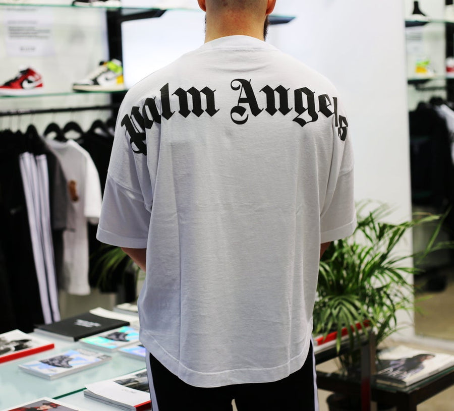 PALM ANGELS - Classic Logo Over T-Shirt White