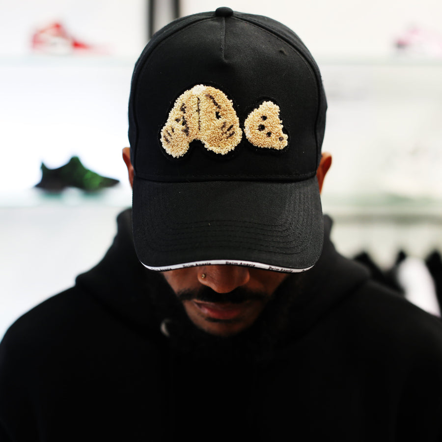 PALM ANGELS - Palm Angels Bear Cap Black Brown