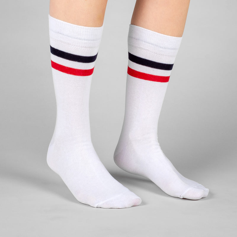 DEDICATED Socks Sigtuna Double Stripes