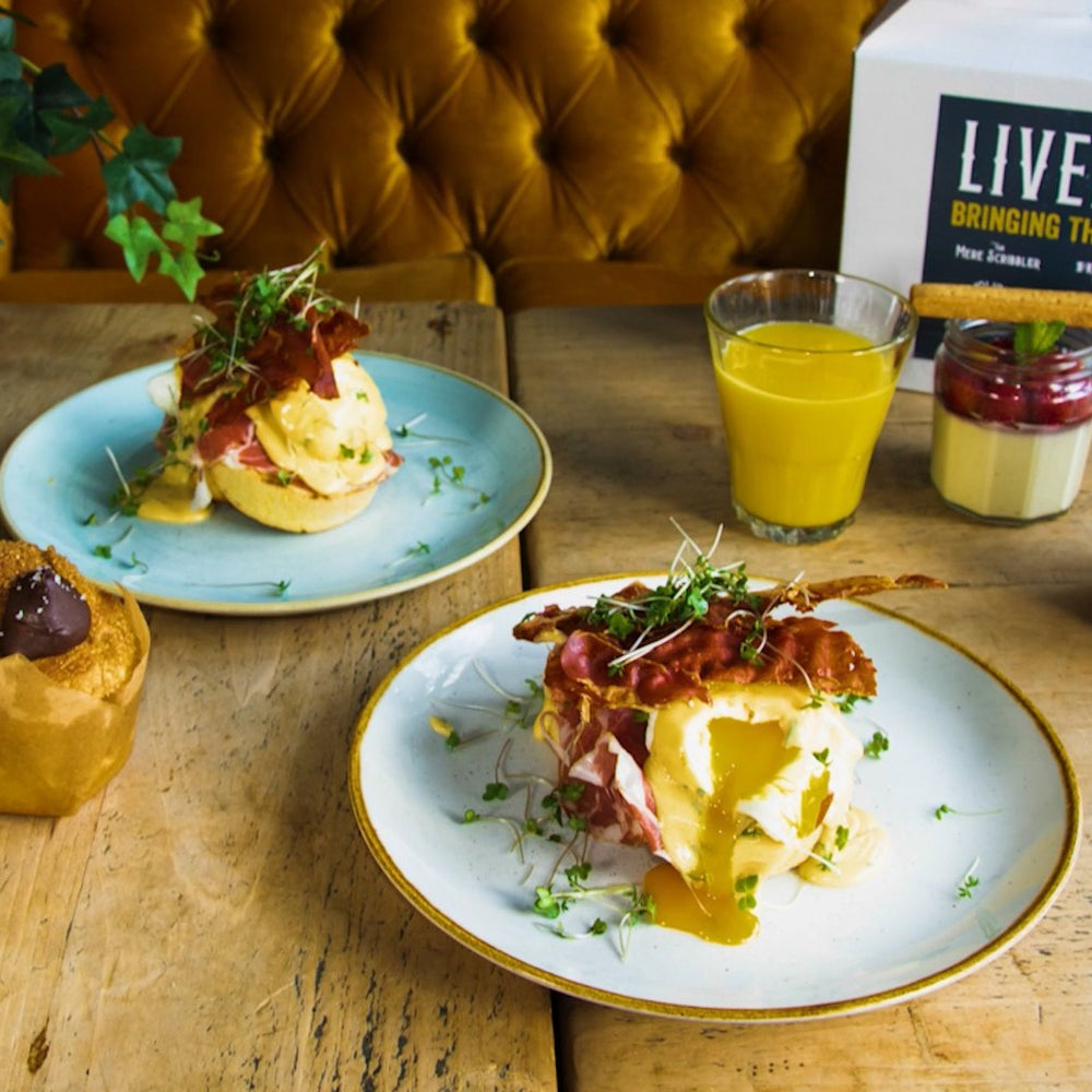 The Big Weekend Brunch with Truffle Eggs Benedict
