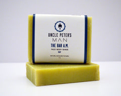 Natural Face Soap that can be used for body and shave.