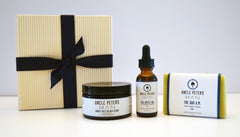 The LINEUP 416 Gift Pack. Face Soap, Scrub and Face OIl set