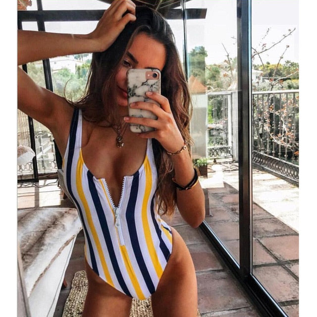 Swimwear Bodysuit Push Up