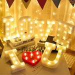 Alphabet Letter LED Lights