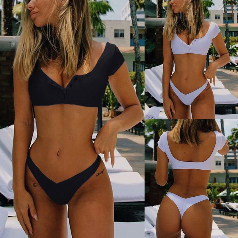 Women Bikini Set Push-Up Brazilian Swimwear