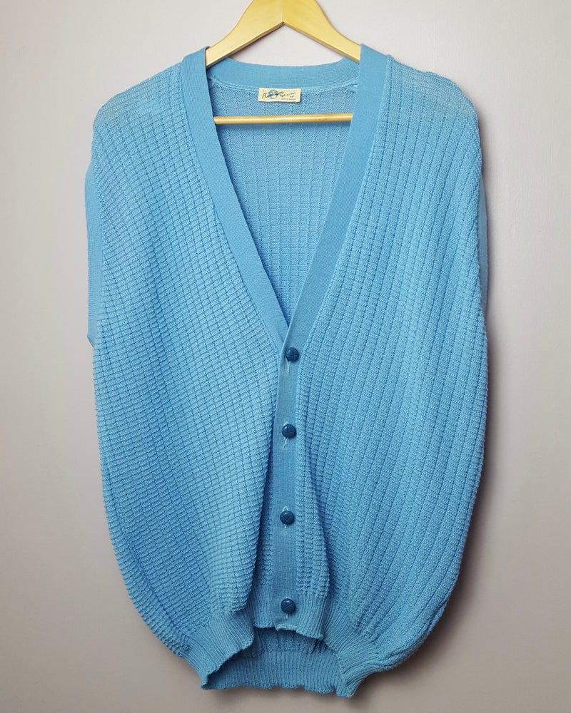 Light Blue Vintage Cardigan