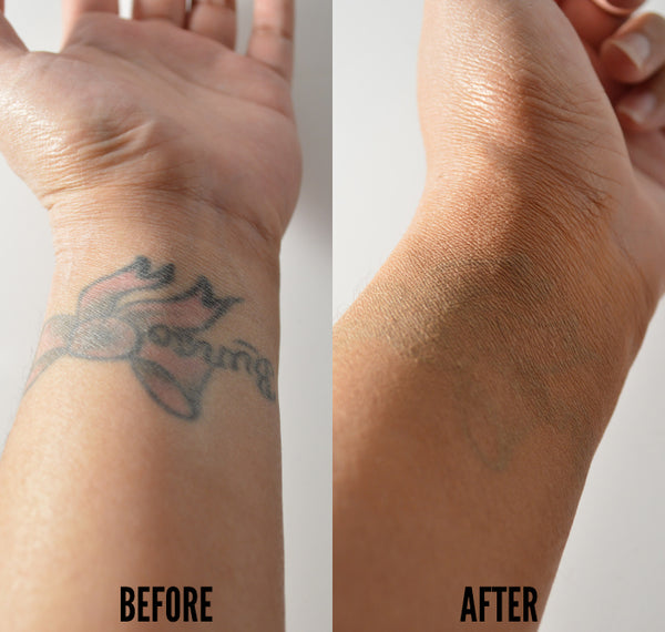 how to cover tattoo for work with makeup