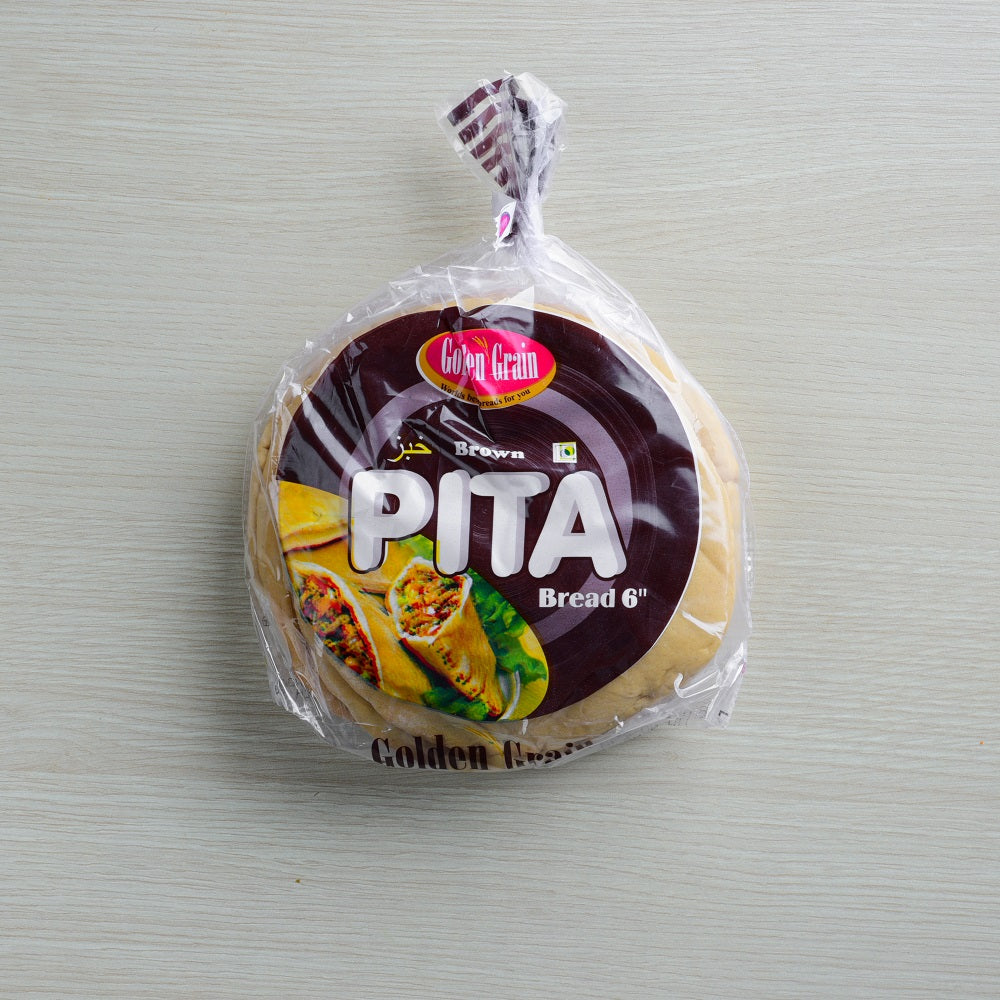 "Pita Bread 6"" Brown"