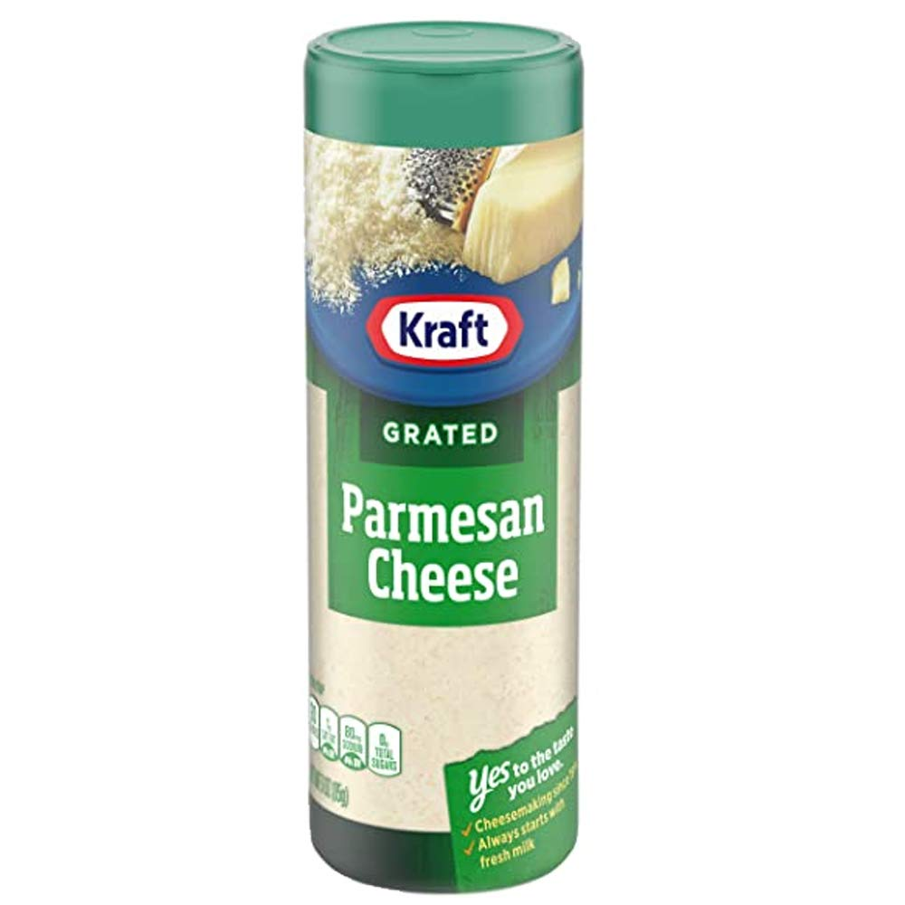 Kraft Parmesan Cheese Grated