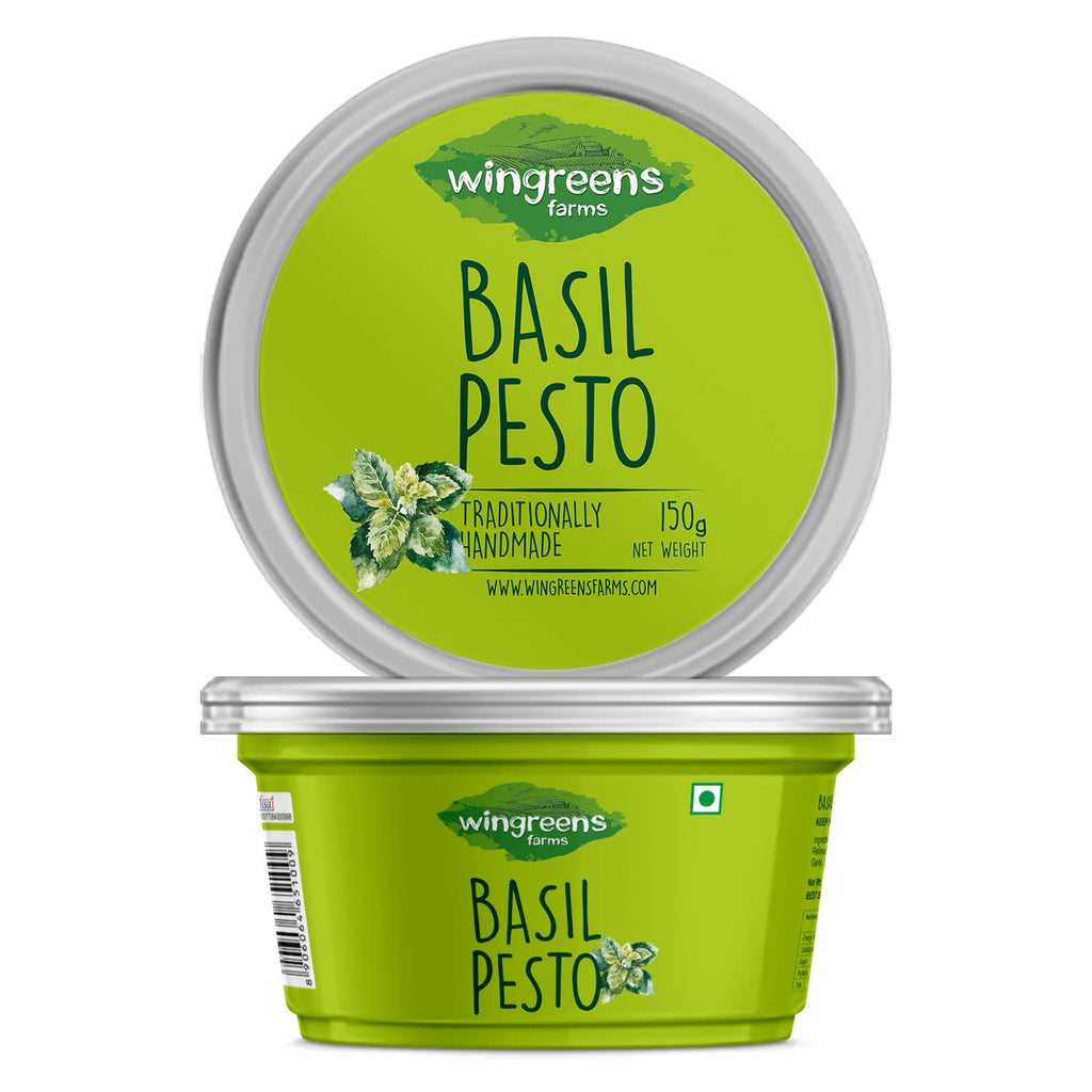 Wingreens Farms Basil Pesto