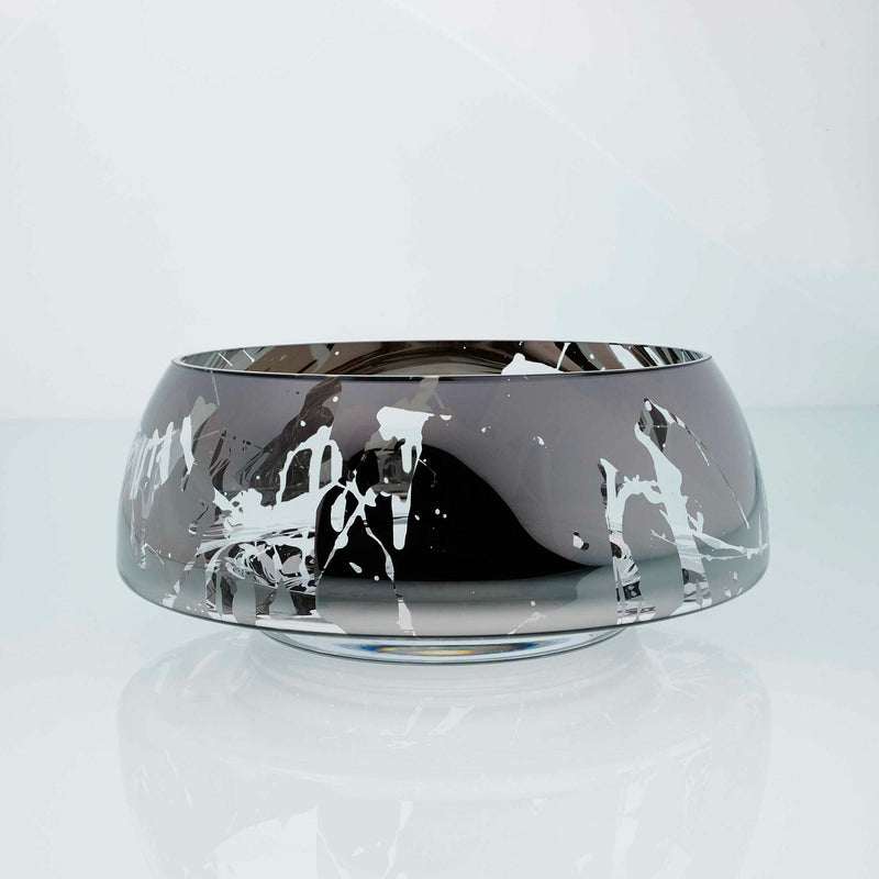 deco jazz large splashed bowl