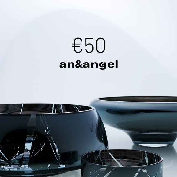 50 EUR gift card for glass products