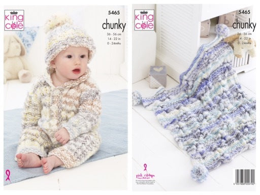 King Cole 5465 Baby Set in Comfort Cheeky Chunky