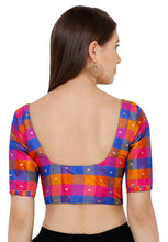 Load image into Gallery viewer, Multicolor South Silk Readymade Blouse (SSB2810-MULT)