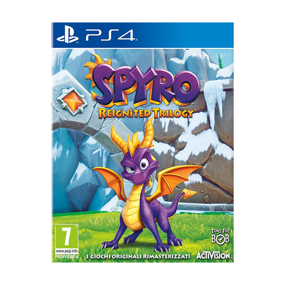 Activision Blizzard PS4 Spyro Reignited Trilogy EU
