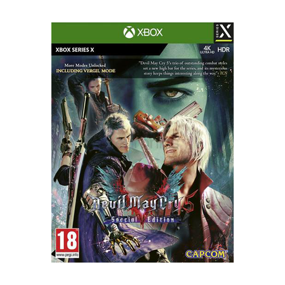 Capcom XBOX Serie X Devil May Cry 5 Special Edition