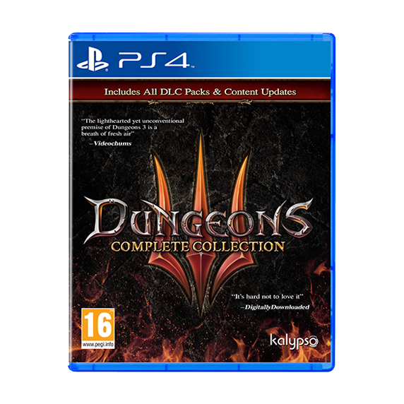 PS4 Dungeons 3 - Complete Collection UE