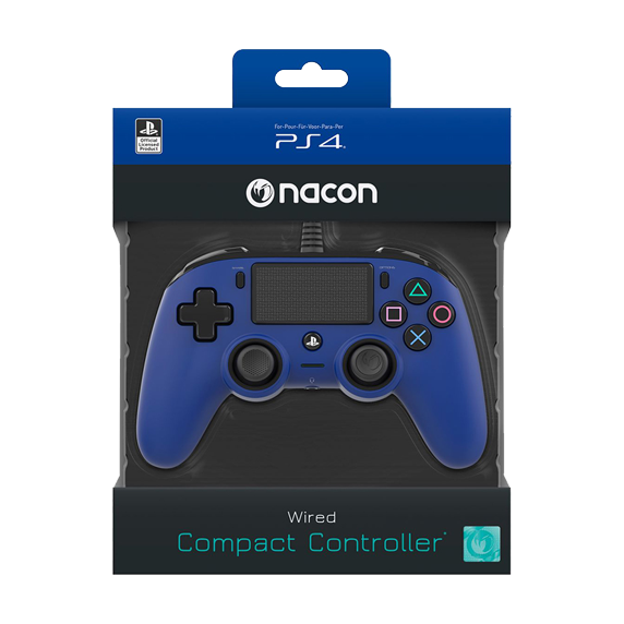 PS4 Nacon Wired Compact Controller Color Edition