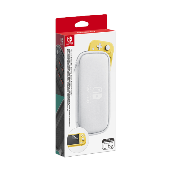 Nintendo Switch Lite Kit Custodia Bianca + Pellicola