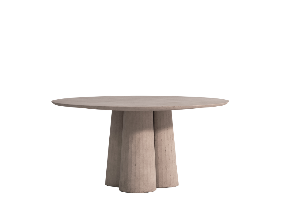 Fusto Dining Table - Rounded shape