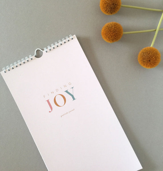 Modern gratitude journal and a lesson in counting your blessings.