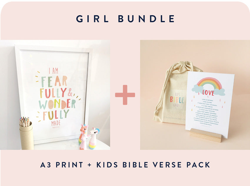 Girl Print + Verse Pack BUNDLE