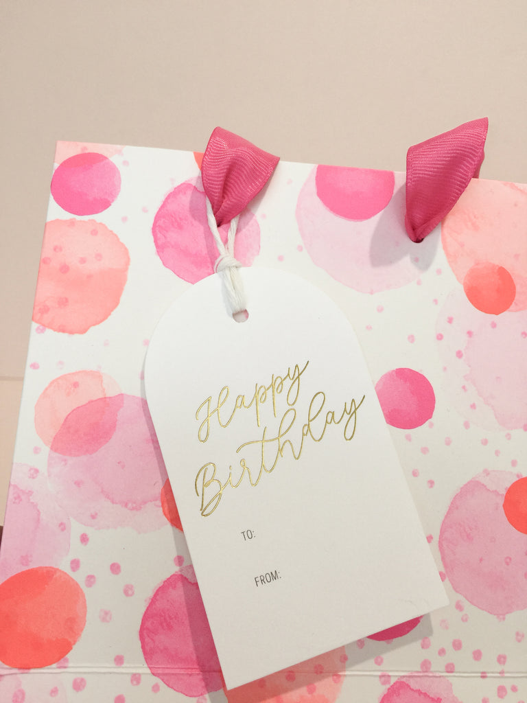 Luxe Foil Gift Tags
