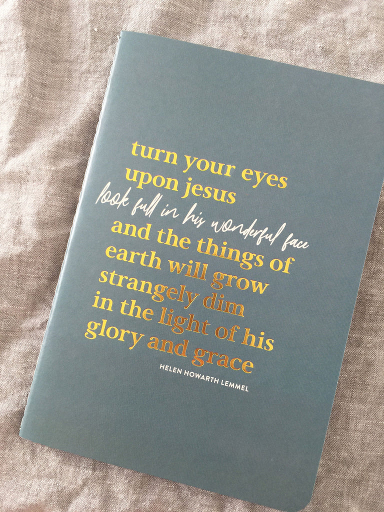10 Minute Journal ~ Turn Your Eyes