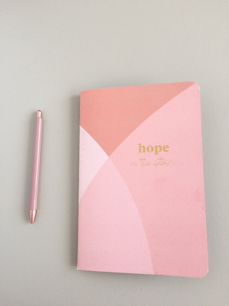 10 Minute Journal ~ Hope ~ Hope in the Storm