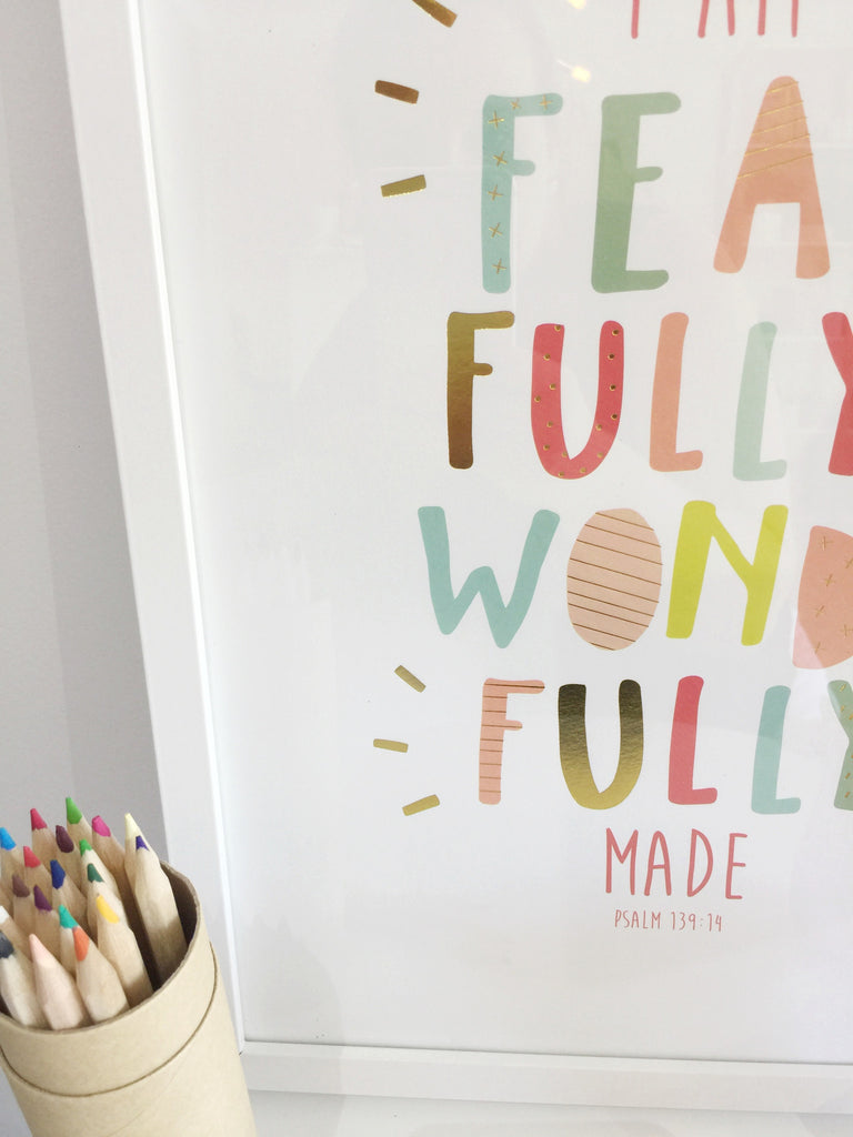 Fearfully & Wonderfully Made - Rainbow