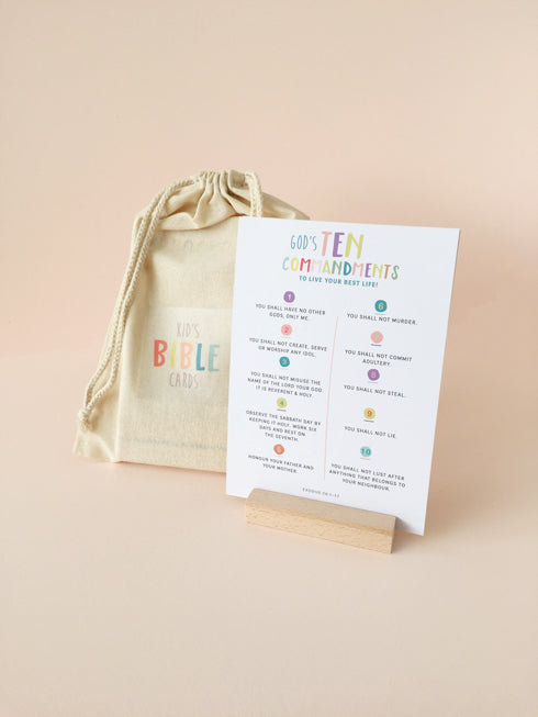 Modern Kids A5 Bible Verse Card Pack
