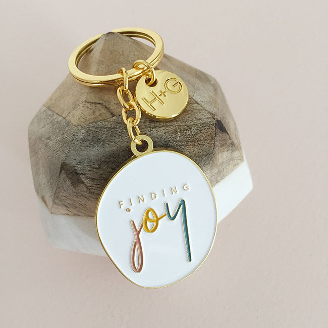 Finding Joy Keyring