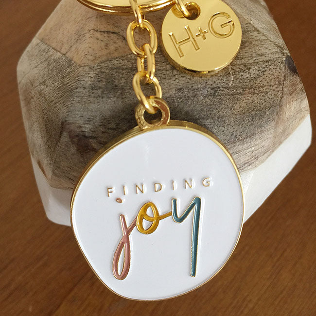 Finding Joy JOURNAL + KEYRING Bundle